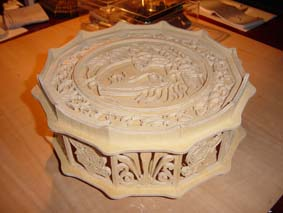 medusa box scroll saw fretwork pattern 03