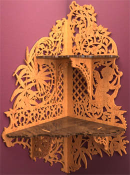 Scroll Saw Fretwork Patterns - Patrick Spielman, James Reidle
