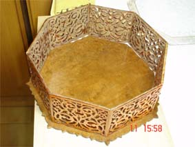 mounting process of the wooden Bacchus box