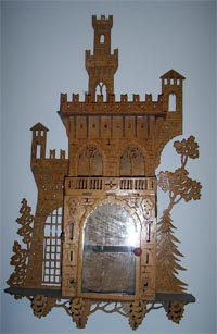 scroll saw frework castle cabinet