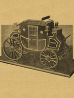 model of english stage coach