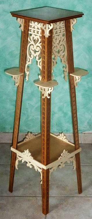 Pedestales de madera para macetas casa dise o - Pedestales para macetas ...