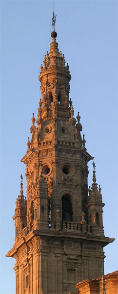 Bell tower of Santo Domingo de la Calzada cathedral